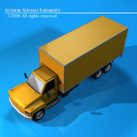 Ln medium truck1 3D Model