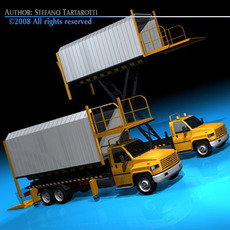 Airport loading vehicle 3D Model