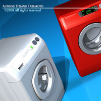 Washing machines 3D Model