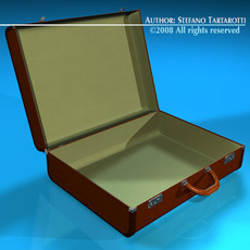 Suitcase collection 3D Model