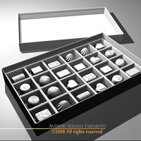 Chocolate box 3D Model