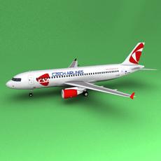 A-320 3D Model
