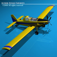 AT-802F Air Tanker 3D Model