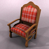 00 07 43 671 chair red 01 4