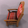 00 07 43 708 chair red 02 4