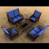 00 07 43 788 arm chair 01 4