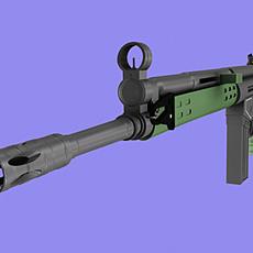 GUN-G3 3D Model