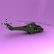 AW-139 3D Model