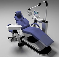 3d Dental Chair 3D Model
