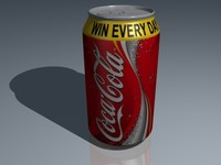 Soda Can 3D Model