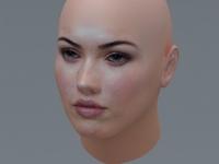 Megan Fox 3D Model