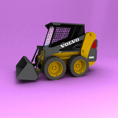 Skid Steer Loaders 3D Model