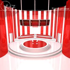 tv set 1 3D Model