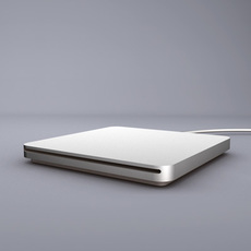 Macbook Air Superdrive 3D Model