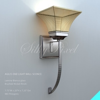 Agilis Wall Sconce 3D Model