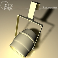 Stage light - mini par 3D Model