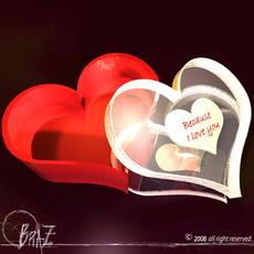 Love box 3D Model