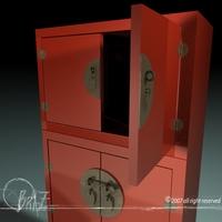 Chinese closet 3D Model