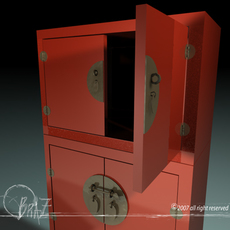 Chinese closet 3D Model