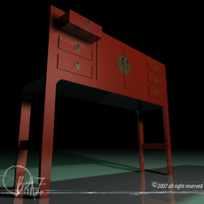 Chinese cabinet 3D Model