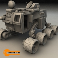 Terror Former Vehicle 3D Model