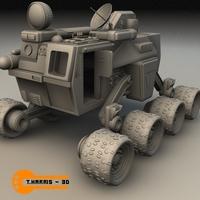 Terror Former Vehicle 3D Model