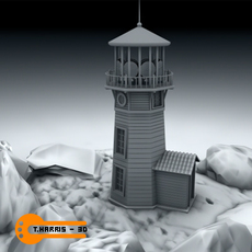 Light House 1 3D Model