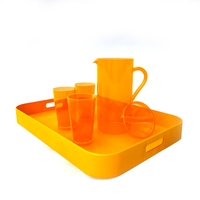 Orange Tableware 3D Model