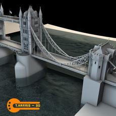 Tower Bridge 3D Model
