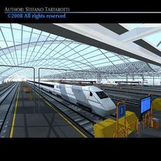 Central station 3D Model