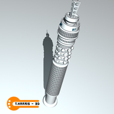 British Telecom Tower 3D Model