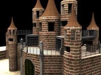 Tms_Fort02 3D Model