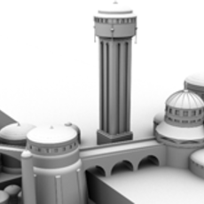 Theed 3D Model