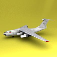 il-76 Iran 3D Model