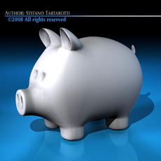 Coin pig 3D Model