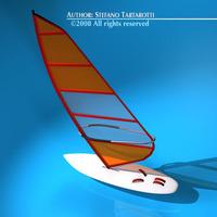 Windsurf 3D Model