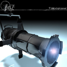 stage light - ETC 3D Model