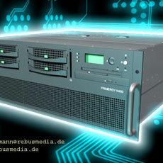 19 Inch Computer Bundle 3D Model