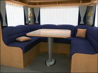 Caravan Interior 3D Model