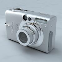 IXUS 430 Camera 3D Model