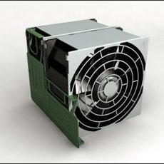 Cooling Fan 3D Model