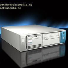 Desktop Computer Bundle 3D Model