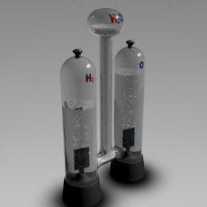 Electrolysis 3D Model
