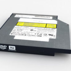 FSC Notebook DVD Drive 3D Model