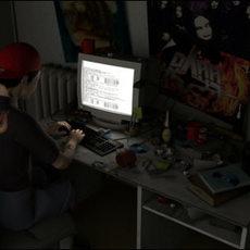 Hacker Room 3D Model