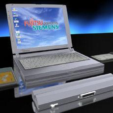 Lifebook B 3D Model
