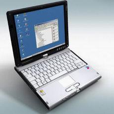 Lifebook T incl. accessoires 3D Model