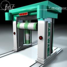 car wash 3D Model