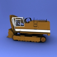 liebherr 962 3D Model