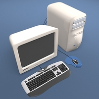 Computer Collection 3D Model